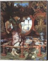 Framed Lady of Shalott