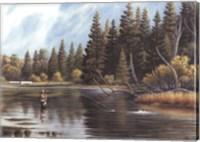 Framed Fly Fishing