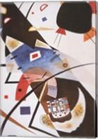 Framed Deux Taches Noires, 1923