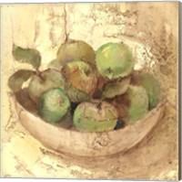 Framed Sunlit Apples