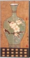 Framed Asian Vase II