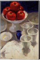 Framed Red Apples