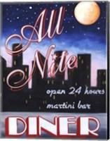 Framed All Nite Diner