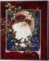 Framed Santa's Portrait