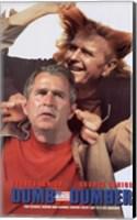 Framed Dumb and Dumber Bush