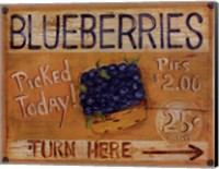 Framed Fruit Stand I