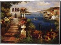 Framed Marina Di Leuca II