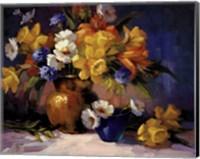 Framed Daffodils Day Lillies
