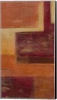 Framed Orange Two-Step III