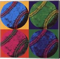 Framed Ball Four - Baseball