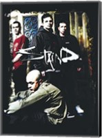 Framed Staind - Group Shot