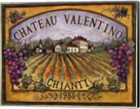 Framed Chateau Valentino