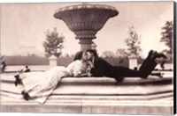 Framed Meet Me At The Fountain 1908
