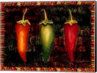 Framed Red Hot Chili Peppers I