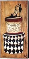 Framed Vintage Hat Box II