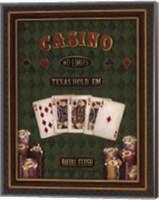 Framed Texas Hold 'Em - mini