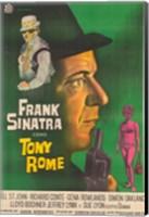 Framed Tony Rome