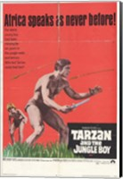 Framed Tarzan and the Jungle Boy, c.1968