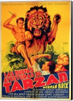 Framed New Adventures of Tarzan, c.1935 (Spanish) - style A