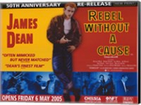 Framed Rebel Without a Cause Challenging of Today's Teenage Violence