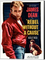 Framed Rebel Without a Cause and they both came from good families