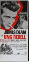 Framed Rebel Without a Cause Black and White