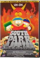 Framed South Park: Bigger, Longer and Uncut - Brazilian - style B