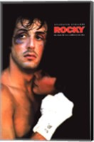 Framed Rocky Black Eye