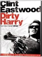 Framed Dirty Harry Black and White