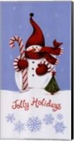 Framed Jolly Holidays