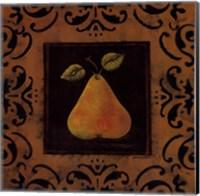Framed Antique Pear