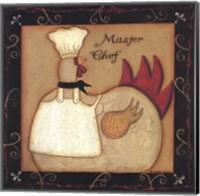 Framed Master Chef