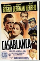 Framed Casablanca Cast