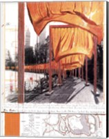Framed Gates, Project for Central Park, New York City
