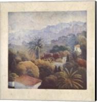 Framed Garden Palms II