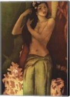 Framed Island Girl