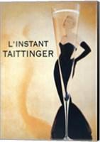 Framed L'Instant Taittinger