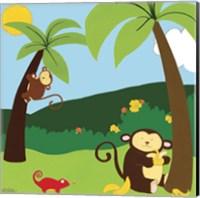 Framed Jungle Jamboree II