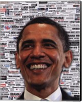 Framed Obama - Headlines