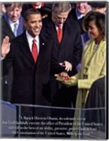 Framed Obama - Inauguration