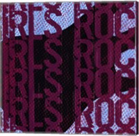 Framed Girls Rock - Guitar