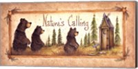 Framed Nature's Calling