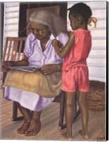 Framed Grandma and Me