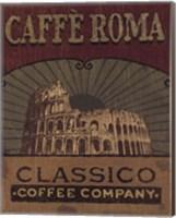 Framed Coffee Blend Label I