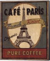 Framed Coffee Blend Label II