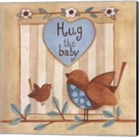 Framed Hug the Baby