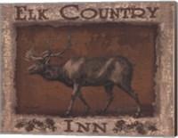 Framed Elk Country - Mini