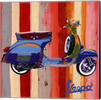 Framed Pop Vespa II