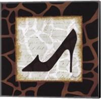 Framed Safari Shoes IV