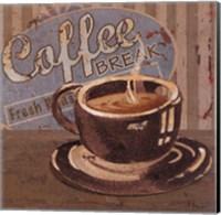 Framed Coffee Brew Sign I - petite